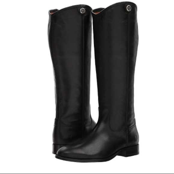 960b8685bbd Frye Shoes - New Frye Melissa Button 2 Tall Boots in Black